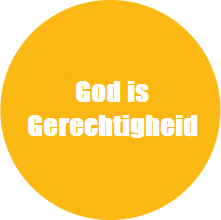 Yahweh – Tsidkenu: God is Gerechtigheid.